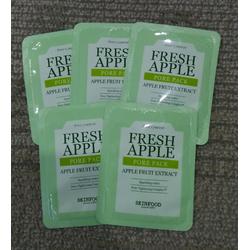 Combo 5 gói Sample Skinfood Fresh Apple Pore Pack