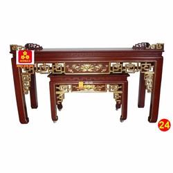 Bàn thờ bằng gỗ Căm Xe đẹp 217