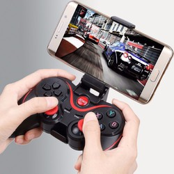 Tay cầm chơi game Bluetooth Terios T3 cho điện thoại