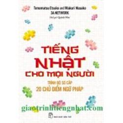 Tiếng Nhật cho mọi người trình độ sơ cấp – ngữ pháp – Có tiếng Việt