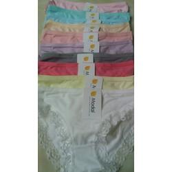 Sale off 10 quần lót Cotton ren