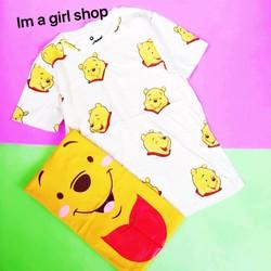 áo phông thái gấu Pooh