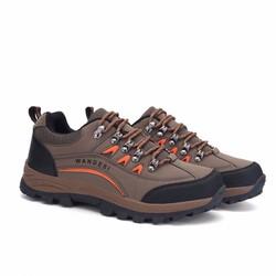 Giày đi phượt WANDESI - Du lịch, Leo núi, Trekking - Cam