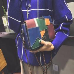 Túi xách nữ TX_05Xanh họa tiết