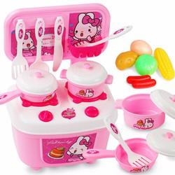 Bộ đồ chơi nấu ăn Joy kitchen- hồng