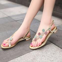 Sandal Hoa Hàng Nhập Cao Cấp