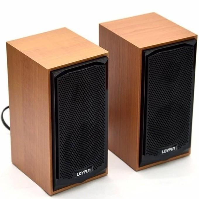 Loa di động máy tính Loyfun M22 âm thanh sống động - Loa Loyfun M22