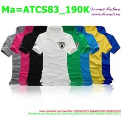Áo thun nhiều màu sắc cho cả nam lẫn nữ trẻ trung ATCS83