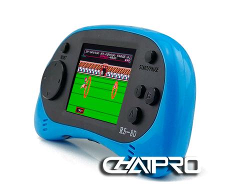 Máy Chơi Game Cầm Tay NINTENDO Rs-8 cài sẵn 260 Trò Chơi NES 4