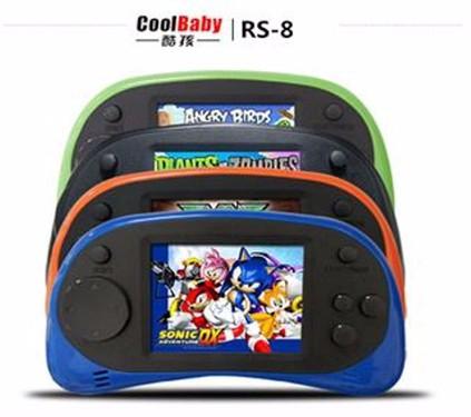 Máy Chơi Game Cầm Tay NINTENDO Rs-8 cài sẵn 260 Trò Chơi NES 8