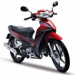 Xe Số Honda Blade 110cc mâm đĩa- Đen đỏ