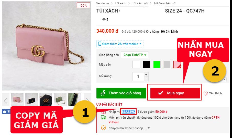 Kinh nghiệm chia sẻ mã giảm giá đến khách hàng khi kinh doanh trên SENDO.VN - image prrDlh on https://congdongdigitalmarketing.com