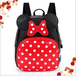 QS50 -  Balo đi học hình Mickey đáng yêu cho bé size 27 QSTORE