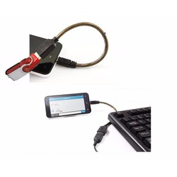 Cáp Micro USB OTG Unitek Y-C438