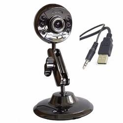 Webcam sắt tự nhận driver 6 đèn hồng ngoại