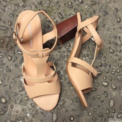 SD001K - Giày Sandal Cao Gót Cá Tính