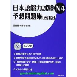 Sách luyện thi N4 Yosomondaishu đề thi kèm cd