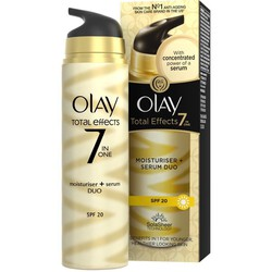 Hàng UK - Kem dưỡng da Olay-Total-Effects Moisturiser + Serum Duo