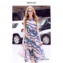Đầm Maxi Kèm Dây Thắt Eo HR1313