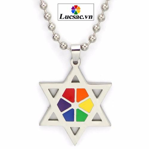 Dây chuyền ngôi sao đồng tính cho Gay, Les, LGBT - TS013 - 11021954 , 6196762 , 15_6196762 , 188000 , Day-chuyen-ngoi-sao-dong-tinh-cho-Gay-Les-LGBT-TS013-15_6196762 , sendo.vn , Dây chuyền ngôi sao đồng tính cho Gay, Les, LGBT - TS013