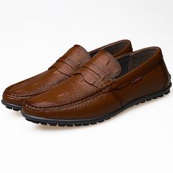 Giày tây công sở da thật - Giày Loafer Lancaster - giày lười nam