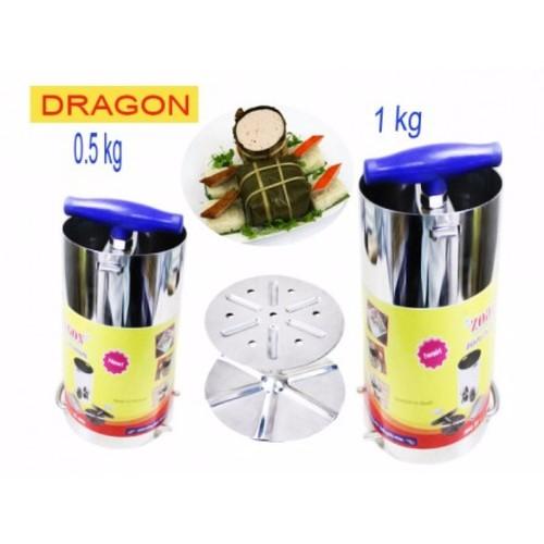 Bộ 2 Khuôn Làm Giò Chả Inox 1kg Và 0.5kg Thương Hiệu Dragon - 11022004 , 6197076 , 15_6197076 , 179000 , Bo-2-Khuon-Lam-Gio-Cha-Inox-1kg-Va-0.5kg-Thuong-Hieu-Dragon-15_6197076 , sendo.vn , Bộ 2 Khuôn Làm Giò Chả Inox 1kg Và 0.5kg Thương Hiệu Dragon