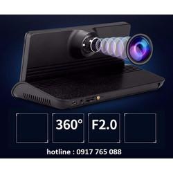 Camera hành trình A8 tích hợp cam lùi IPS 7 inch