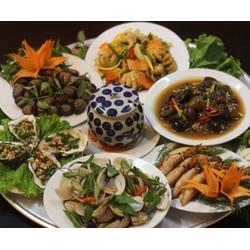 Mâm hải sản Phú Yên đặc biệt cho 04 người tại nhà hàng Chèo Cusine