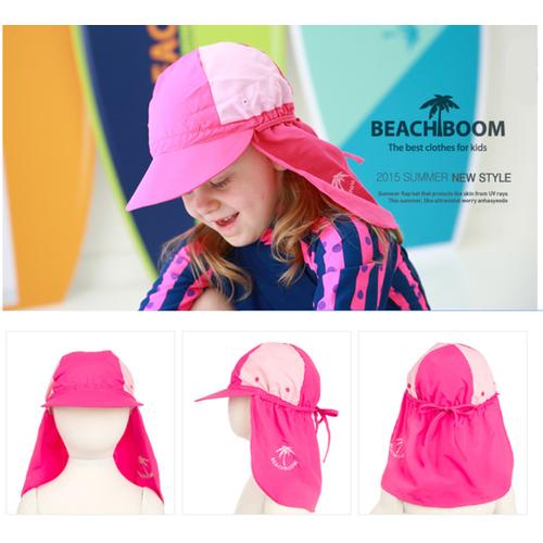 Mũ che gáy  màu hồng