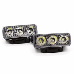 Đèn Led 3 bóng dài   đèn led xe máy