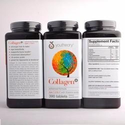 Viên Uống Youtheory Collagen Advanced Formula 1, 2, 3 - 390 Viên