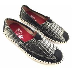 Giày lười vải cao cấp trẻ trung năng động AD301D