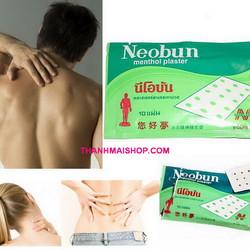 PK010x2 - Combo 20 miếng cao dán giảm đau Neobun Thái Lan nóng