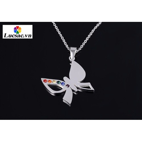 Dây chuyền hình cánh bướm cho Gay, Les đồng tính LGBT - TS020