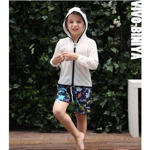 Quần đi biển Vivo Biniya  màu tím than hình 2 đến 9 tuổi