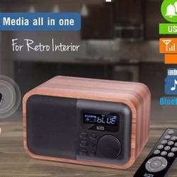 Máy nghe nhạc Bluetooth kèm Radio D90
