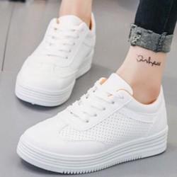 giày thể thao đục lỗ nữ