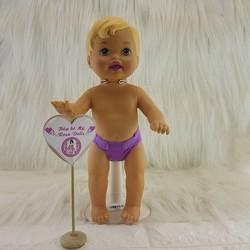 Búp bê Little Mommy 28 cm - Fisher Price-Hàng lỗi_không quần áo