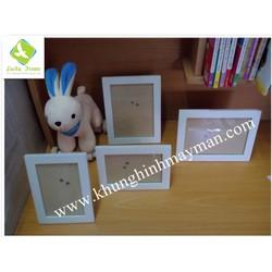 Bộ 4 khung ảnh gỗ để bàn