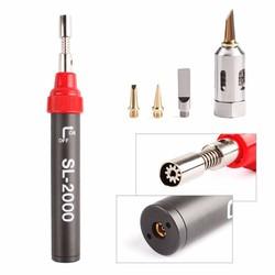 Bút khò, mỏ hàn thiếc bằng GAS vỏ hợp kim  cao cấp SL-2000