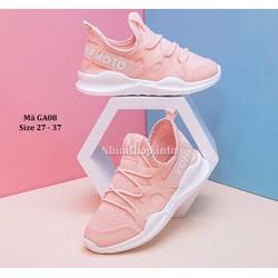 Giày thế thao bé gái 3 - 12 tuổi phong cách Nhật GA08