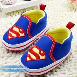 Giày vải tập đi cho bé Bata siêu nhân 0-24M