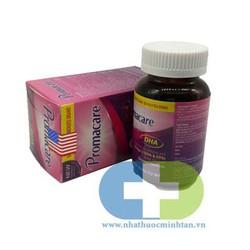 Promacare DHA MỸ cung cấp phát triễn của thai nhi