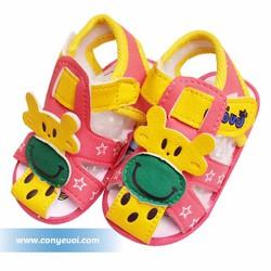 Giày sandal kèn cho bé gái Guang bei hình hươu