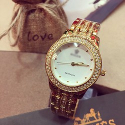 Đồng hồ nữ viền đá RL DateJust