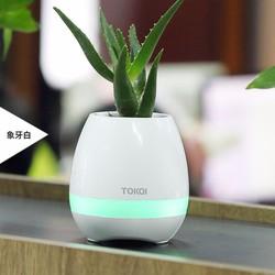 Loa Bluetooth-Loa Bluetooth kiêm trồng cây