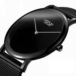Đồng hồ MODUL siêu mỏng máy Nhật, đơn giản tinh tế - Mã số:DH1738