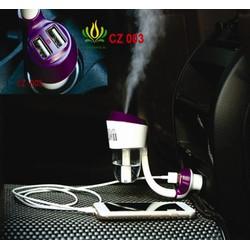 Máy phun sương khử mùi xe Oto, lọc khí- Tặng kèm tinh dầu