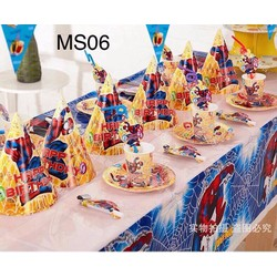 set bàn tiệc sinh nhật cho bé MS 06