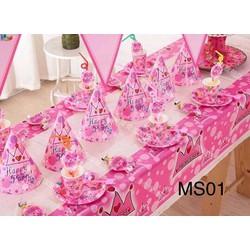 Set bàn tiệc sinh nhật cho bé MS 01